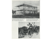 1900's Federal Hotel and an early motorised buggy