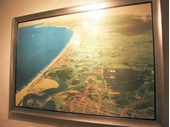 1940's Painting of Gold Coast from air