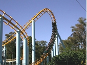 2000's Rollercoaster at Dreamworld
