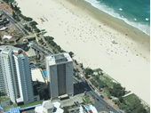 2010's Surfers Paradise beach from Q1 tower