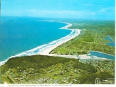 1970's Aerial view of Burleigh to Coolangatta