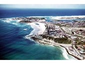 1970's Aerial view of Kirra