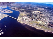 1970's Aerial View of Southport