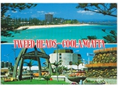 1970's Coolangatta Tweed Heads postcard 2