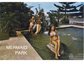 1970's Mermaid Beach statute