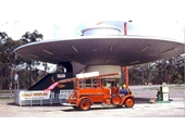 1973 Space Theme Service Station on route to Gold Coast