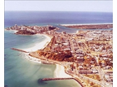 1980's Aerial view of Coolangatta-Tweed Heads