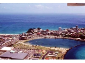 1980's Aerial view of Tweed Heads