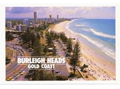 1980's Burleigh Heads postcard 2