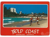 1980's Coolangatta postcard 5