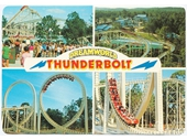 1980's Dreamworld postcard 3