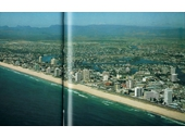 1980's (early) aerial view over Surfers Paradise