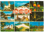 1980's Gold Coast postcard 1