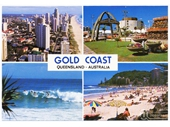 1980's Gold Coast postcard 2