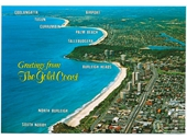 1980's Gold Coast postcard 3