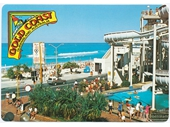 1980's Grundy's Waterslide postcard 2