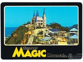 1980's Magic Mountain postcard 4