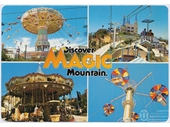 1980's Magic Mountain postcard 5