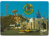 1980's Magic Mountain postcard 6