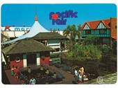 1980's Pacific fair postcard 2