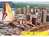 1980's Surfers Paradise postcard 1
