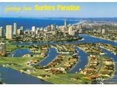 1980's Surfers Paradise postcard 2