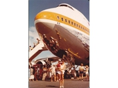 1981 Gold Coast airport welcomes its first Boeing 747