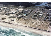 1950's Aerial view of Broadbeach (Lennons Hotel in centre)