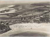 1950's Aerial view of Coolangatta Tweed Heads
