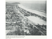 1950's Aerial view of Palm Beach