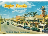 1950's Gold Coast Highway in Surfers Paradise