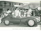 1950's Jack Davey at his Surfers Paradise service station
