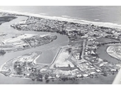 1955 Aerial photograph of Surfers Paradise