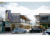 1955 Shopping arcade on GC Highway at Surfers