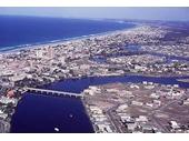 1960's Aerial view of Chevron Island
