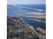 1960's Aerial view of Southport Broadwater
