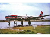 1960's Coolangatta airport - Ansett plane