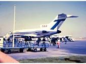 1960's Coolangatta airport - TAA plane