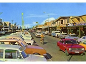 1960's Coolangatta main street