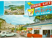 1960's Nobby's Beach lookout chairlift 1