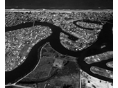 1967 Aerial photograph of the area from Southport to Surfers Paradise