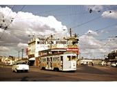 12 - A tram at the Gabba Fiveways