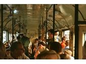 14 - Inside a tram
