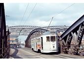 28 - A tram crosses Victoria Bridge