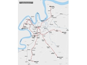 2 - Southside tram map