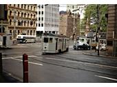 31 - A Tram turns onto Wharf St