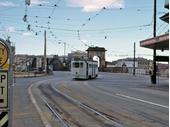 47 - A Tram comes off the Victoria Bridge at South Brisbane