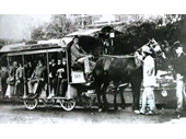4 - Early horse drawn tram