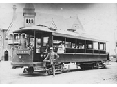 5 - An early electric tram