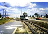 61 - A Tram on Beaudesert Rd in Salisbury